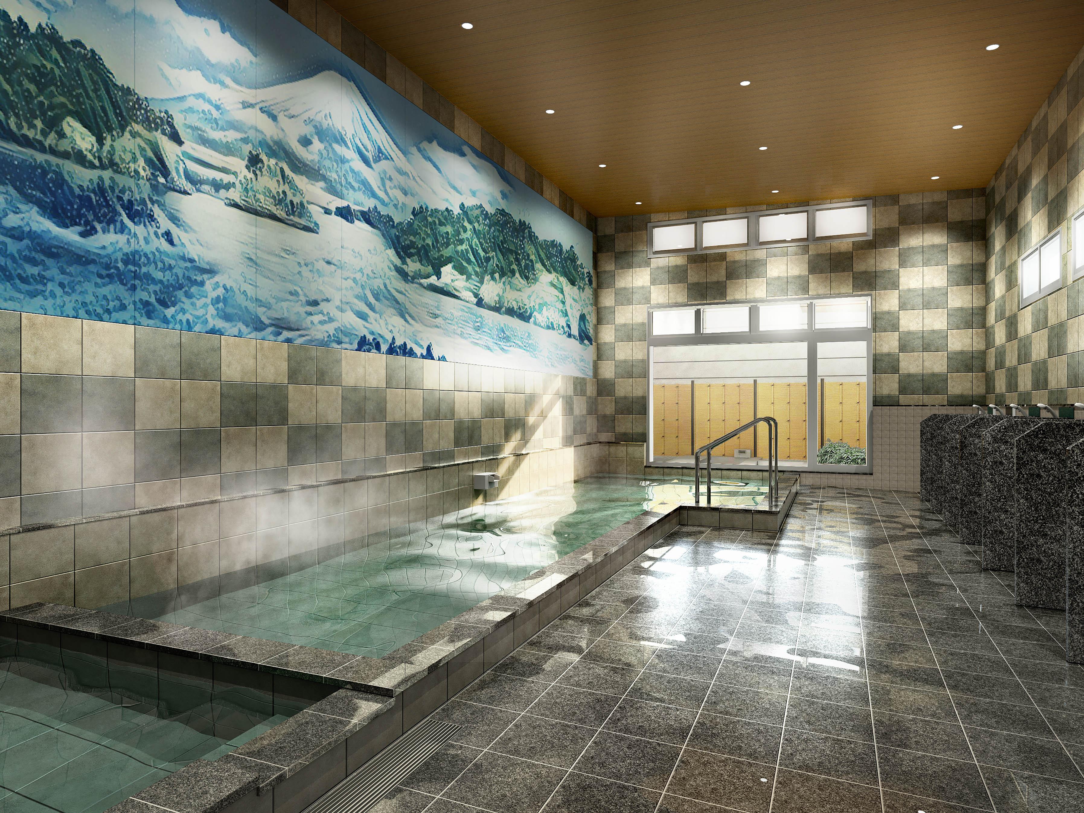 入浴施設CG